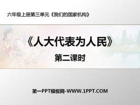 《人大代表�槿嗣瘛肺��的��家�C��PPT�n件