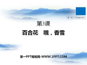 《百合花》《*哦,香雪》PPTtt娱乐官网平台