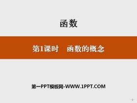 《函数的概念》函数PPT