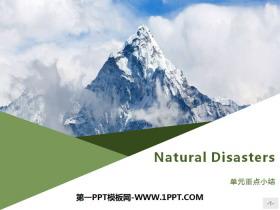 《Natural Disasters》单元重点小结PPT