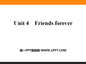 《Friends forever》PPT