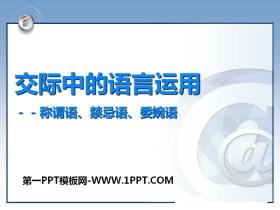 《交际中的语言运用》PPT课件