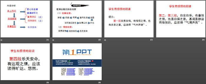 《归去来兮辞并序》PPT下载