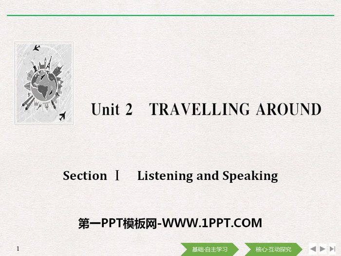 《Travelling Around》Listening and Speaking PPT