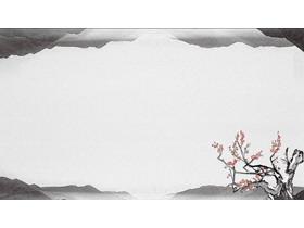 7张灰色雅致水墨中国风必发88背景图片