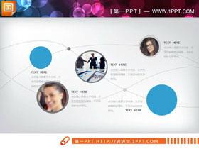 人物�^像��交叉�P系PPT�D表