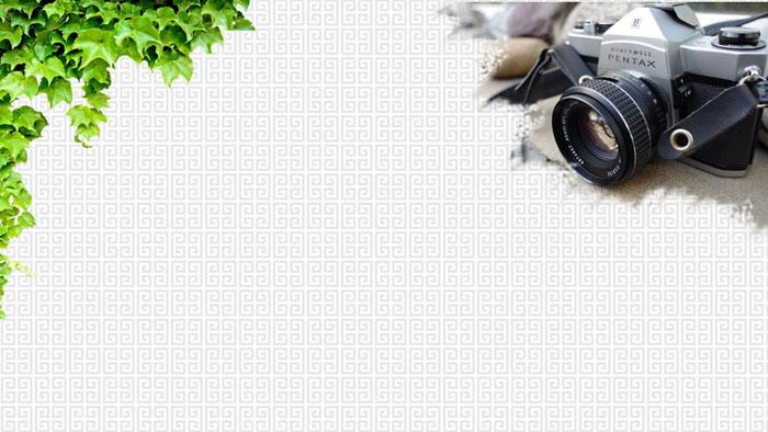 五张怀旧风格PPT背景图片