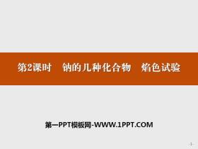 《钠的几种化合物 焰色试验》钠及其化合物PPT