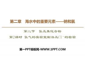 《氯气的实验室制法及Cl-的检验》氯及其化合物PPT