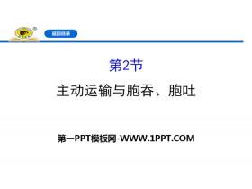 《主动运输与胞吞、胞吐》细胞的物质输入和输出PPT