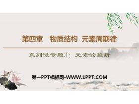 《元素的推断》物质结构元素周期律PPT