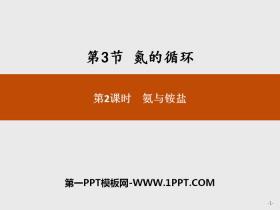 《氮的循�h》物�|的性�|�c�D化PPT(第2�n�r氨�c�@�})