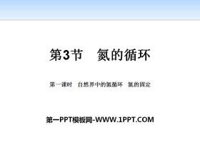 《氮的循�h》物�|的性�|�c�D化PPT(第一�n�r自然界中的氮循�h氮的固定)