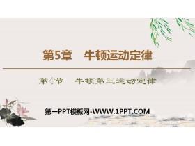《牛顿第三运动定律》牛顿运动定律PPT下载