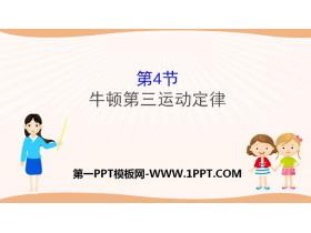 《牛顿第三运动定律》牛顿运动定律PPT教学课件