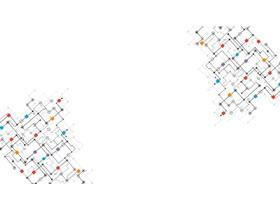 4张点线科技PPT背景图片