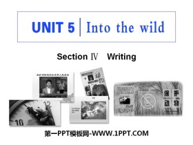 《Into the wild》Section ⅣPPT�n件