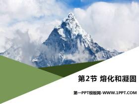 《熔化和凝固》物态变化PPT