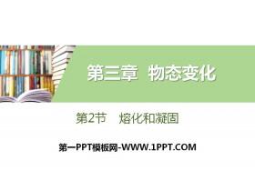 《熔化和凝固》物态变化PPT下载