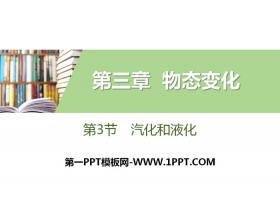 《汽化和液化》物态变化PPT下载