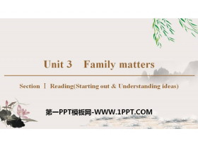 《Family matters》Section ⅠPPT教�W�n件