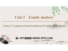 《Family matters》Section ⅡPPT教�W�n件