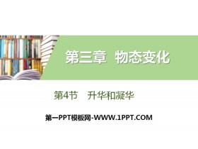 《升华和凝华》物态变化PPT下载