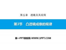 《凸透镜成像的规律》透镜及其应用PPT下载