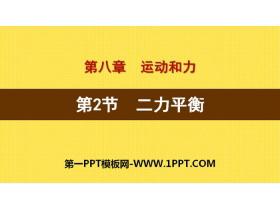 《二力平衡》运动和力PPT下载