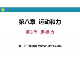 《摩擦力》运动和力PPT教学课件