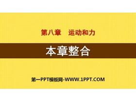 《本章整合》运动和力PPT