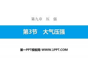 《大气压强》压强PPT下载