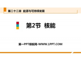 《核能》能源�c可持�m�l展PPT教�W�n件