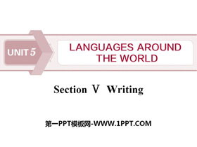 《Languages Around The World》Writing PPT