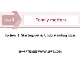 《Family matters》Section ⅠPPTtt娱乐官网平台