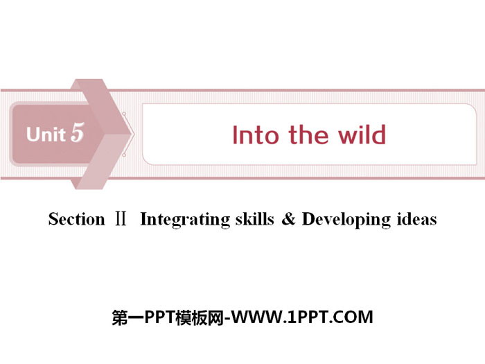 《Into the wild》Section ⅡPPT下�d