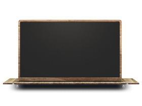 带有空间感的黑板PPT背景图片