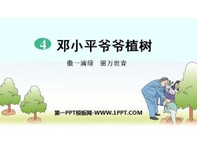 《邓小平爷爷植树》PPT课件下载