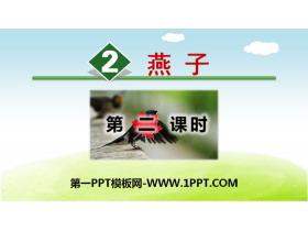 《燕子》PPT课件(第二课时)