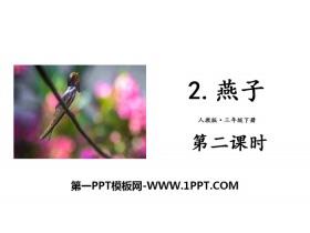 《燕子》PPT下载(第二课时)