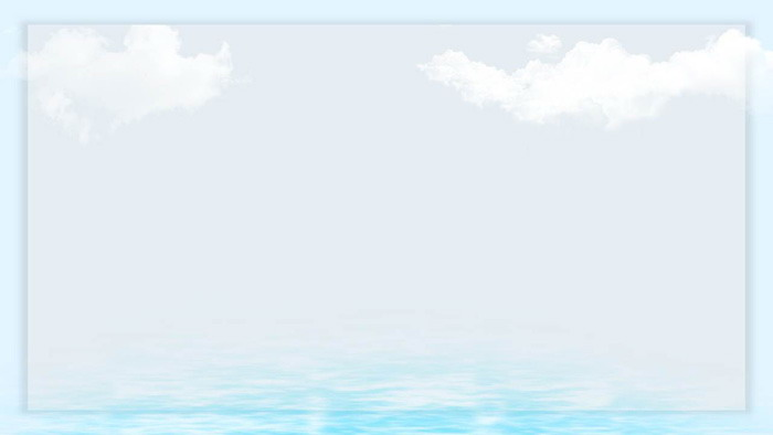 清新卡通海洋���PPT背景�D片