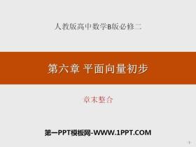 《章末整合》平面向量初步PPT