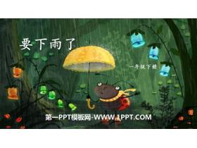 《要下雨了》PPT下载
