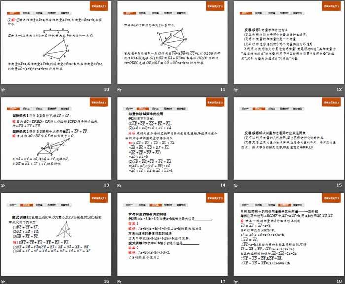 《平面向量及其线性运算》平面向量初步必发88(向量的加法)