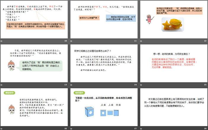 《画杨桃》PPT课件(第2课时)