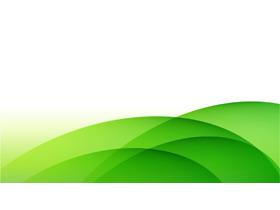 绿色简洁渐变曲线必发88背景图片