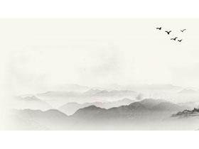古典水墨群山必发88背景图片