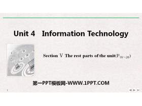 《Information Technology》SectionⅤ PPT