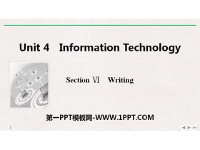 《Information Technology》SectionⅥ PPT