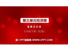 《第三单元检测卷》PPT